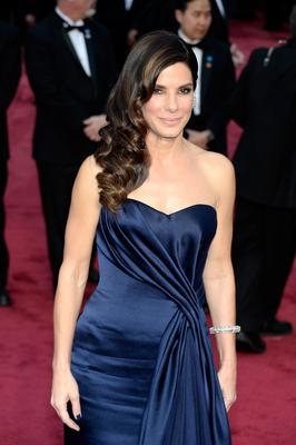 HOLLYWOOD, CA - MARCH 02:  Sandra Bullock attends the Oscars held at Hollywood & Highland Center on March 2, 2014 in Hollywood, California.  (Photo by Kevork Djansezian/Getty Images)