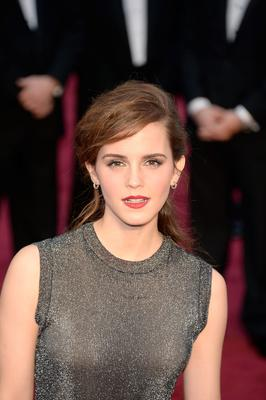 HOLLYWOOD, CA - MARCH 02:  Actress Emma Watson attends the Oscars held at Hollywood & Highland Center on March 2, 2014 in Hollywood, California.  (Photo by Kevork Djansezian/Getty Images)