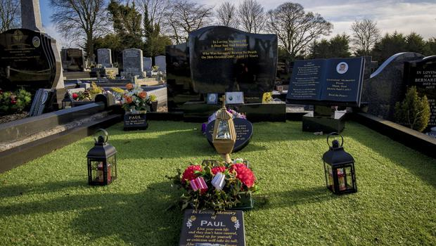 General view showing the grave of Paul Quinn in Cullyhanna on February 5th 2020 (Photo by Kevin Scott for Belfast Telegraph)