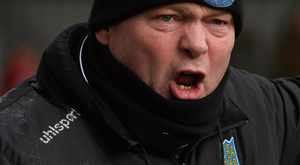Homecoming: David Jeffrey is wary of a new look Glentoran team