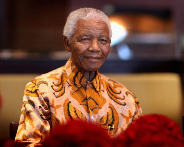 South African President Nelson Mandela, pictured in 2009 during celebrations of the opening of the One&Only Cape Town resort, Sol Kerzner's first hotel in his home country since 1992. (Photo by Chris Jackson/Getty Images)