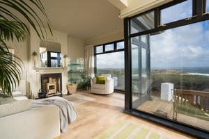The property is located beside Royal Portrush's Dunluce Links