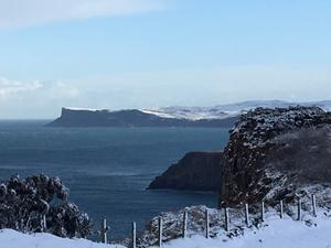Snowfall in Ballycastle, January 2017 - submitted by Tony Bowen