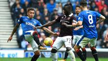 Rangers and Hearts played out a 0-0 draw at Ibrox on Saturday afternoon.