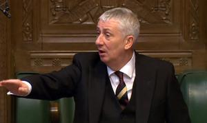 Deputy Commons speaker Sir Lindsay Hoyle expressed concern about abuse suffered by MPs (PA)