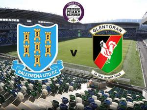 Ballymena United face Glentoran in the Irish Cup final.