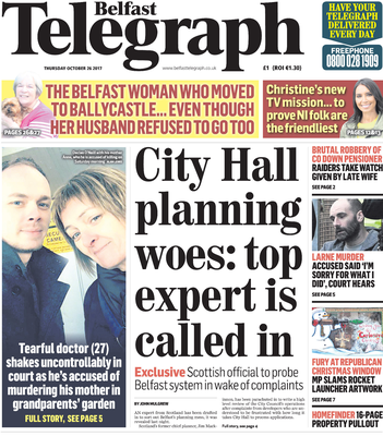 How we reported the issues at Belfast City Council last year