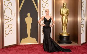HOLLYWOOD, CA - MARCH 02:  Actress Charlize Theron attends the Oscars held at Hollywood & Highland Center on March 2, 2014 in Hollywood, California.  (Photo by Jason Merritt/Getty Images)
