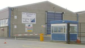 The B/E Aerospace factory in Kilkeel