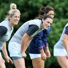 Major test: the Ireland ladies, including Hannah Tyrrell, have to topple in-form France in Dublin