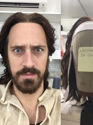 Stephen Hagan, plays Leonardo Da Vinci in Netflix Medici Series 3