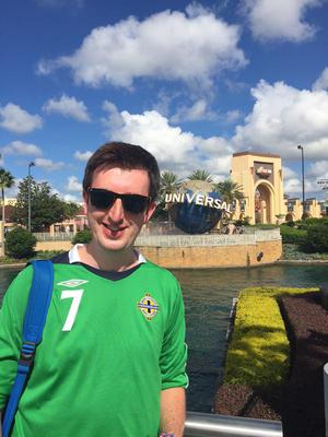 Colin ?(@ards1985) via Twitter: watching hopefully later in sunny Orlando with @kirstywoo85