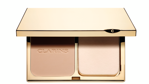 Clarins Everlasting Compact Foundation, £29.50  Not only is this foundation designed to give you 15 hours of continuous coverage but it also includes SPF 15.  www.clarins.co.uk