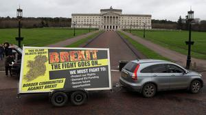 People living one side of the Irish border but working on the other are having 'serious' issues arranging mortgages and insurance because of Brexit, campaigners said (Brian Lawless/PA)