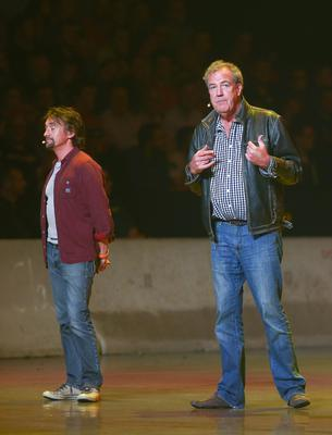 Picture - Kevin Scott / Presseye  Friday 22nd May 2015 -  Clarkson , Hammond and May Live at the Odyssey Arena  Pictured is Jeremy Clarkson, Richard Hammond and James May during the live show at the Odyssey Arena in Belfast , Northern Ireland  Picture - Kevin Scott / Presseye