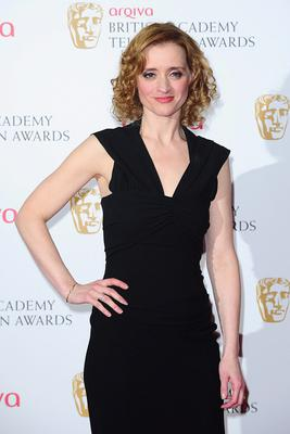 Anne-Marie Duff at the 2013 Arqiva British Academy Television Awards at the Royal Festival Hall, London. PRESS ASSOCIATION Photo. Picture date: Sunday May 12, 2013. See PA story SHOWBIZ Bafta. Photo credit should read: Ian West/PA Wire