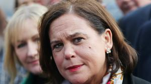 "Sinn Fein president Mary Lou McDonald said she is on the mend after being ""very unwell"" with coronavirus. (NialL Carson/PA)"