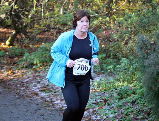 Mandatory Credit - Picture by Freddie Parkinson/Press Eye © Saturday 19th November 2016 Belfast Telegraph Run Forest Run Drum Manor Forest Park, Drum Road, Cookstown BT80 9RT Susan McElroy from	Portadown