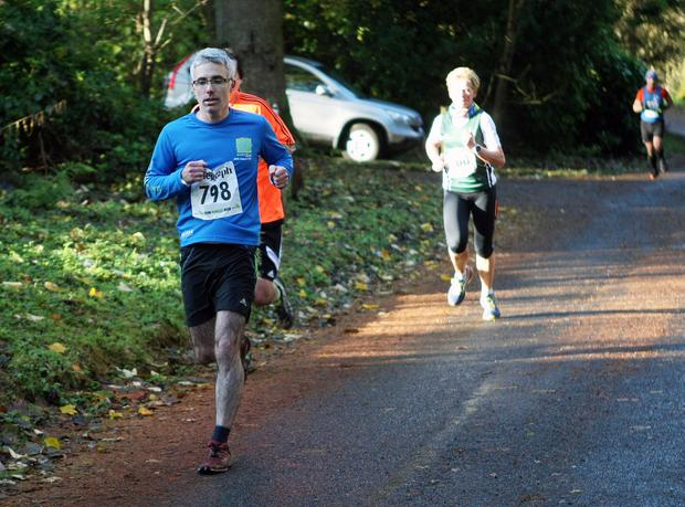 Mandatory Credit - Picture by Freddie Parkinson/Press Eye © Saturday 19th November 2016 Belfast Telegraph Run Forest Run Drum Manor Forest Park, Drum Road, Cookstown BT80 9RT Martin Duggan