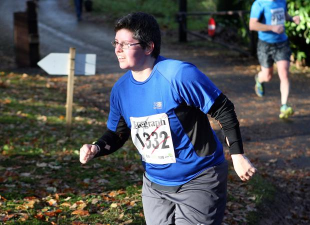 Mandatory Credit - Picture by Freddie Parkinson/Press Eye © Saturday 19th November 2016 Belfast Telegraph Run Forest Run Drum Manor Forest Park, Drum Road, Cookstown BT80 9RT Fintan Murphy