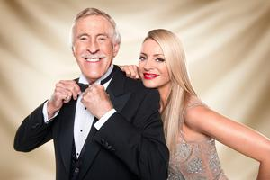 Strictly Come Dancing hosts Sir Bruce Forsyth and Tess Daly. Ray Burmiston/BBC/PA Wire
