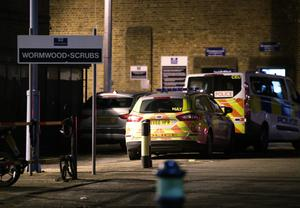 The exterior of HMP Wormwood Scrubs in London, where a prisoner has been stabbed to death (Yui Mok/PA)