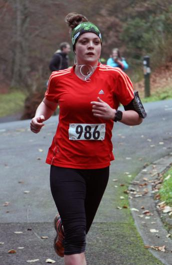 Mandatory Credit - Picture by Freddie Parkinson/Press Eye © Saturday 3rd December 2016 Belfast Telegraph Run Forest Run Loughgall. Loughgall Country Park, 11-14 Main Street, Loughgall, Armagh.  Hannah Clancy 10K Belfast