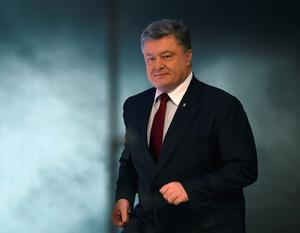 "A populist Ukrainian party leader said on April 4, 2016 he would launch impeachment proceedings against President Petro Poroshenko over his use of offshore accounts revealed by the ""Panama Papers"" leak. AFP/Getty Images [File photo]"