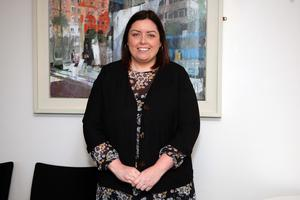 Big plans: Minister for Communities Deirdre Hargey