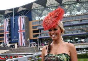 Racegoer Steph Gillam from Wirral during Ladies' Day of the Royal Ascot meeting at Ascot Racecourse, Berkshire. PRESS ASSOCIATION Photo. Picture date: Thursday June 20, 2013. See PA story RACING Ascot. Photo credit should read: Steve Parsons/PA Wire