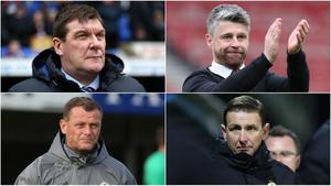 Tommy Wright, Stephen Robinson, Jim Magilton and Ian Baraclough are the top candidates to succeed Michael O'Neill as Northern Ireland manager.