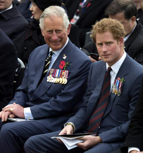 Harry spoke of problems with his relationship with Charles (Paul Edwards/The Sun/PA)
