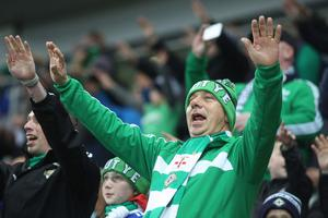 October 5th 2017 - FIFA World Cup - Qualifying Group C Northern Ireland V Germany - National Football Stadium at Windsor Park