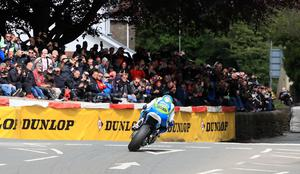Pacemaker Belfast 3-6-19 RST Superbike Race - 2019 TT Dean Harrison - (Silicone Engineering Kawasaki)  at Bradden Bridge during today's RST Superbike Race at the 2019 TT in the Isle of Man.  Photo by David Maginnis/Pacemaker Press