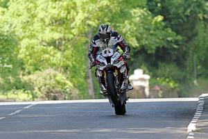 02/06/19 Pacemaker Press Intl/Rod Neill: Michael Dunlop (Tyco BMW) at Milntown in the RST Superbike TT race. Photo: Rod Neill