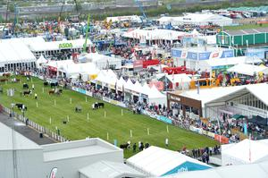 Pacemaker Press 15/5/19 The opening day of the Balmoral Show  on Wednesday, Tens of thousands of people are expected to attend Ireland's largest agricultural and food show, over the next four days. The show is taking place at the former Balmoral Park just outside Lisburn and features a mix of farming displays as well as family activities. Pic Colm Lenaghan/Pacemaker