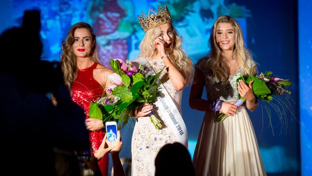 Miss NI winner Katharine Walker at the Europa Hotel - Picture by Caoimhe McKeown / Belfast Telegraph