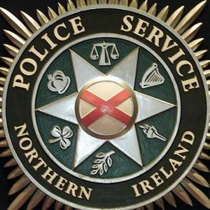 The van was stopped in the Corbally Road area of Fintona