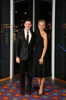Rory McIlroy with and Erica Stoll