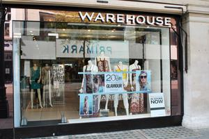 Warehouse and sister brand Oasis were bought as an online-only operation by Boohoo (Lewis Stickley/PA)