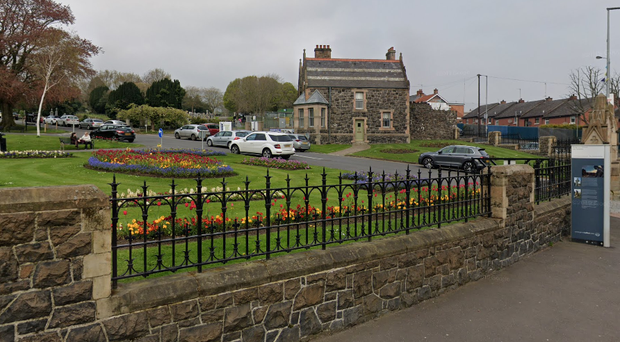 A total of 13 headstones at Belfast City Cemetery have been damaged. Credit: Google