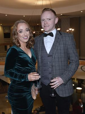 Press Eye - Belfast - Northern Ireland - 20th January  2020  Ciara and Paddy Marley pictured at the 2019 Belfast Telegraph Sport Awards at the Crowne Plaza Hotel in Belfast. Photo by Stephen Hamilton / Press Eye.