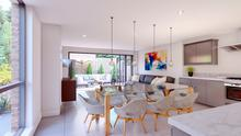Inside one of the new houses as part of the Moira One development