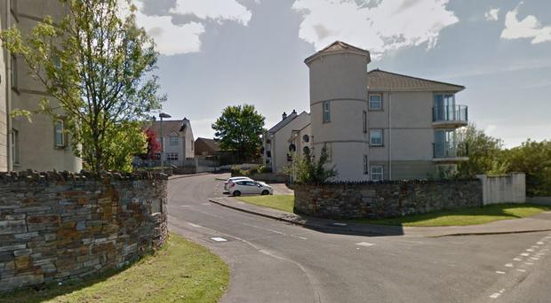 The attack happened in the Montgomery Close area of Londonderry. Credit: Google Maps
