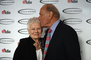 Dame Judi Dench branded Geoffrey Palmer the 'naughtiest man I have ever worked with' (Kirsty O'Connor/PA)
