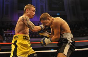©Russell Pritchard / Presseye  18th September 2010 Barry McGuigan Presents Boxing at The Ulster Hall. Carl Frampton v Yuriy Voronin in 8x3 Min Rounds ©Russell Pritchard / Presseye