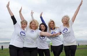 Caring About Recovery From Eating Disorders at the Belfast Telegraph Runher - Seapark to Crawfordsburn - 23rd May 2014 Presseye / Declan Roughan