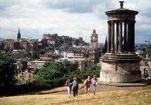 Moving ahead: the Church of Scotland General Assembly in Edinburgh, discussed clergy officiating at same-sex marriages