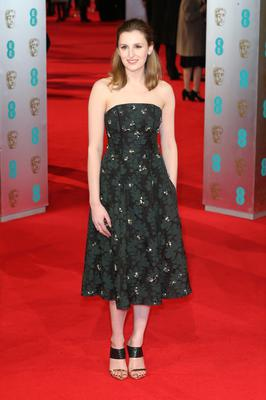 LONDON, ENGLAND - FEBRUARY 16: Actress Laura Carmichael attends the EE British Academy Film Awards 2014 at The Royal Opera House on February 16, 2014 in London, England.  (Photo by Chris Jackson/Getty Images)