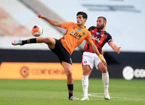 Raul Jimenez was praised by his manager (Mike Egerton/PA)